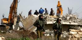 اخلاء بؤرة استيطانية شمال رام الله