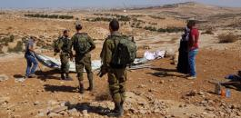 خيام المستوطنين الاسرائيليين في بيت لحم