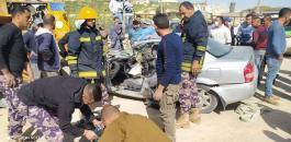 وفاة شابين من قباطية بحادث سير قرب الزبابدة