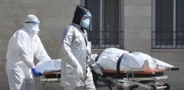 الوفيات بفيروس كورونا في فلسطين