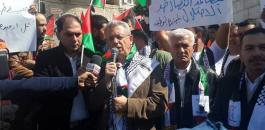 مصفطى البرغوثي في غزة