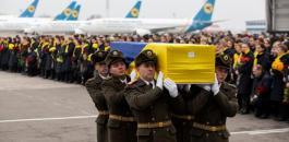 اسقاط الطائرة الاوكرانية في ايران