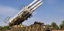 اطلاق صواريخ من سوريا