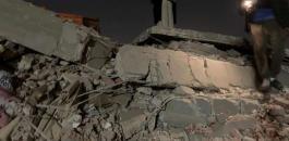 انهيار مبنى في الدقهلية