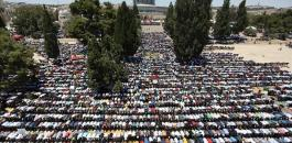 صلاة الجمعة في المسجد الاقصى