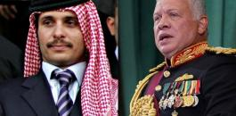 العاهل الاردني والامير حمزة بن الحسين