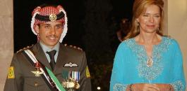 الملكة نور والامير حمزة