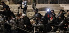 اعتقالات في باب العامود