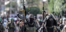 القسام في عرض عسكري بغزة