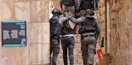 الاعتقالات في المسجد الاقصى المبارك