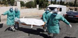الوفيات بكورونا في فلسطين