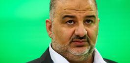 منصور عباس وعملية زعترة