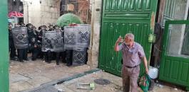 اصابات في مواجهات مع الاحتلال بالاقصى