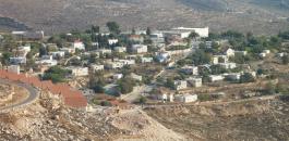 الاستيطان الاسرائيلي في الضفة الغربية