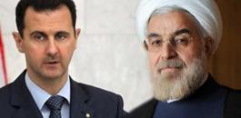 الرئيس الايراني روحاني والاسد