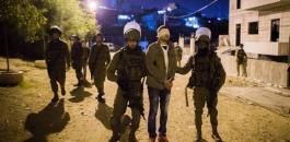 الا عتقالات في الضفة الغربية