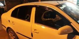 المستوطنون يهاجمون مركبات الفلسطينيين