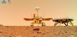 الروبوت الصيني في المريخ