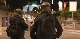 اعتقال  فلسطينيين في الضفة الغربية