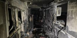 حريق في مستشفى لعزل مرضى كورونا