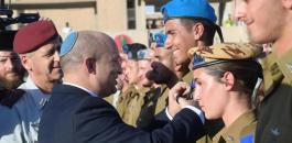 نفتالي بنيت والجيش الاسرائيلي