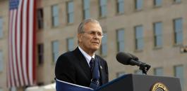 وفاة وزير الدفاع الامريكي السابق دونالد رامسفيلد