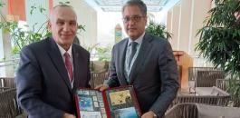 قطر ووزير الاتصالات الفلسطيني