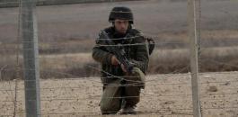 محاولة التسلل في قطاع غزة
