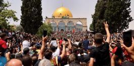 اقتحامات واسعة للمسجد الاقصى