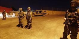 الجيش الاسرائيلي يفرض طوق امني