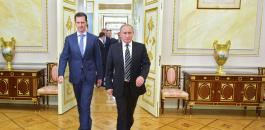 الاسد وسوريا وموسكو