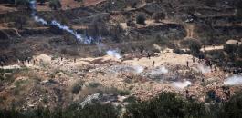 عشرات الاصابات في الضفة الغربية