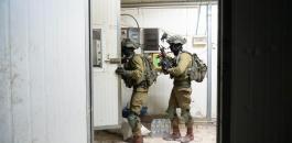 اصابة الضابط الاسرائيلي في جنين