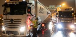 بريطانيا وسائقي الشاحنات