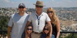 اسرائيل والسياح والضفة الغربية
