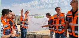 مشروع استيطاني ضخم قرب حاجز زعترة