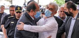 حماس والاجتماع مع وزير المخابرات المصري
