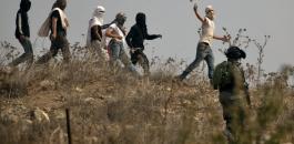 عنف المستوطنين في الضفة الغربية