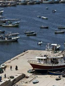 صيادين في غزة