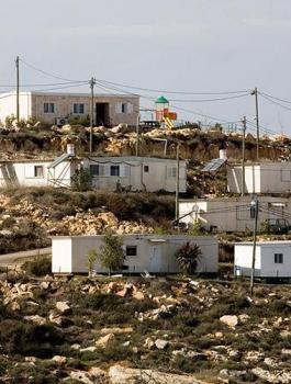 اسرائيل والمستوطنات العشوائية