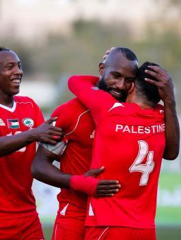 ترتيب المنتخب الفلسطيني لكرة القدم
