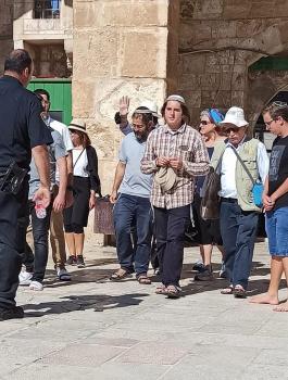المستوطنين في المسجد الاقصى