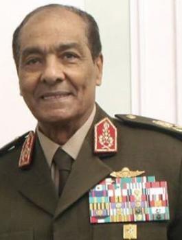 وزير الدفاع المصري السابق المشير الطنطاوي