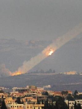 اطلاق صواريخ من لبنان