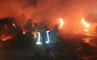 الدفاع المدني وحرائق مشاطب السيارات