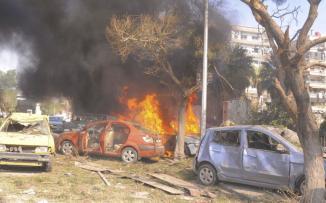 انفجار في العاصمة السورية دمشق