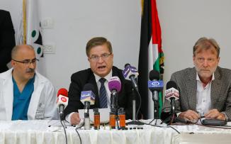 وزير الصحة يعلن البدء بتنفيذ 6 مشاريع صحية بقيمة 12 مليون يورو