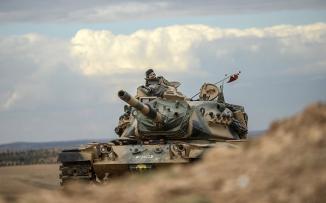 قوات تركية في العراق وسوريا