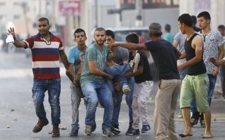 ثلاث اصابات واعتقالات بمواجهات مع الاحتلال في مخيم جنينر