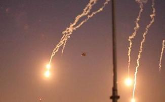 قصف يستهدف السفارة الامريكية في بغداد